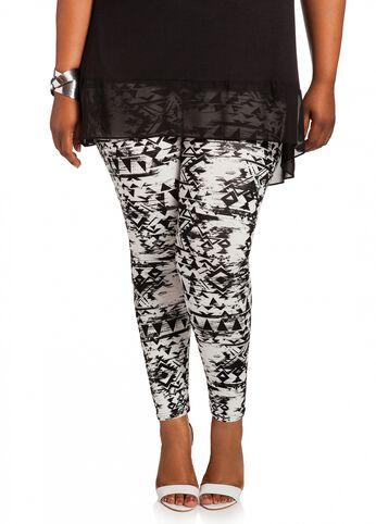 Batik Print Legging