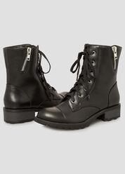 Patent Combat Boot - Wide Width