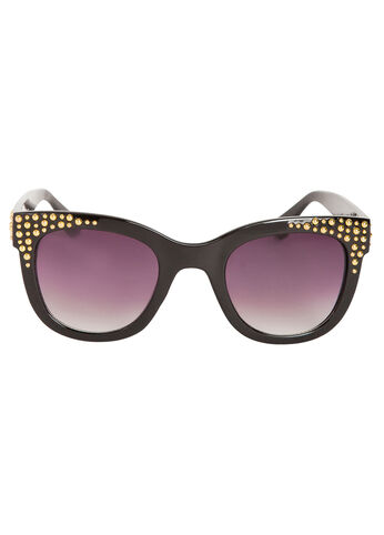 Studded Cat Eyes Sunglasses