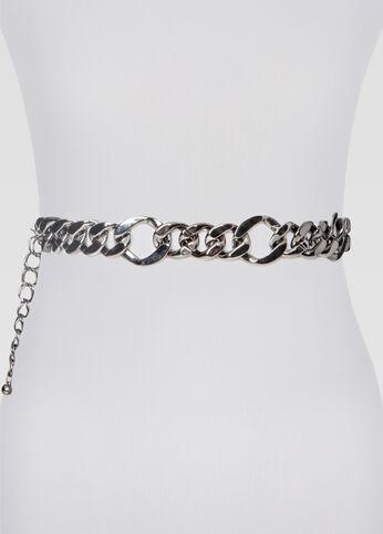 Curb Link Chain Belt