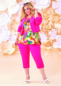 Plus Size Outfits - Pink is the new black