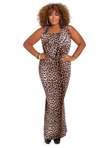 Web Exclusive: Animal Print 4-Way Dress