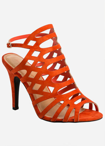 Caged Dress Sandal - Wide Width