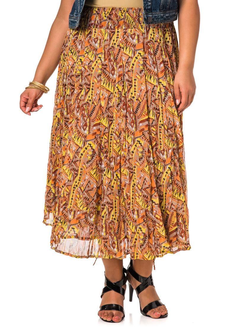 Long Bubble Skirt 44
