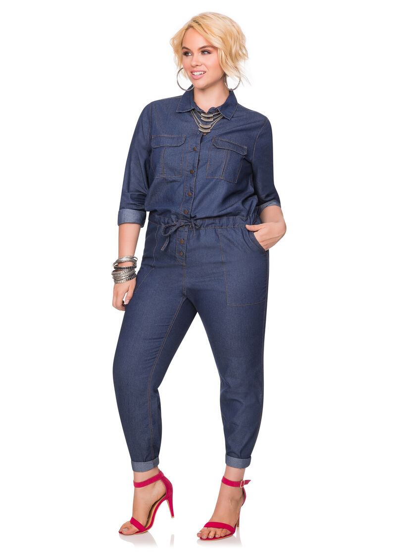 497d43b180f Plus Size Jean Jumpers Related Keywords   Suggestions - Plus Size ...