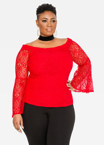 Lace Marilyn Top