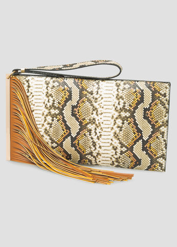 Fringe Snake Bar Clutch