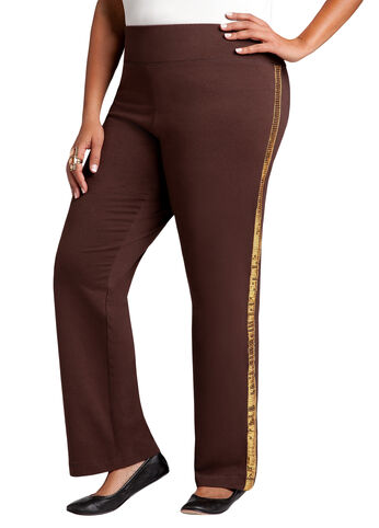 Pull on Sequin Active Pant
