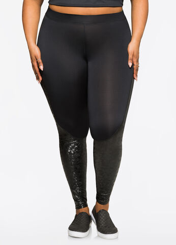 Reflective Camo Active Legging