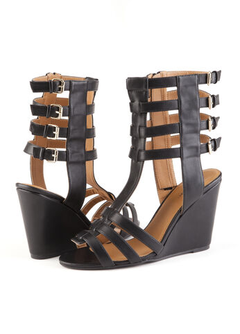 Wedge Gladiator Sandals
