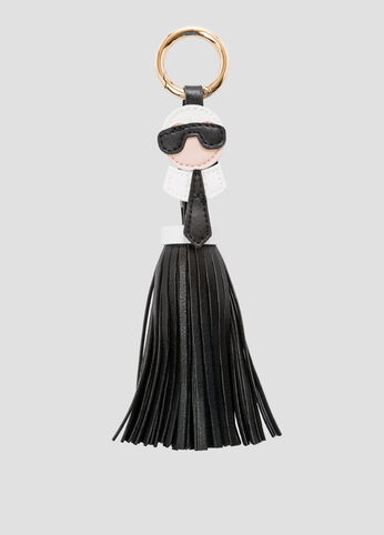 Icon Fringe Tassel Handbag Charm