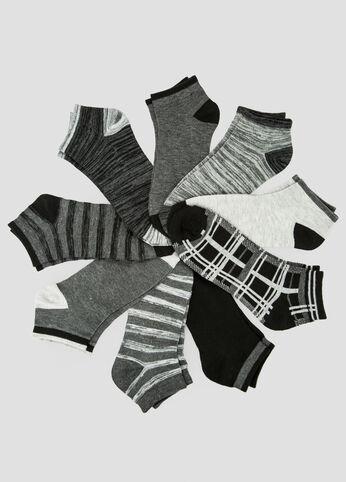 9-Pack Low Cut Socks