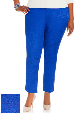 Paisley Jacquard Pants