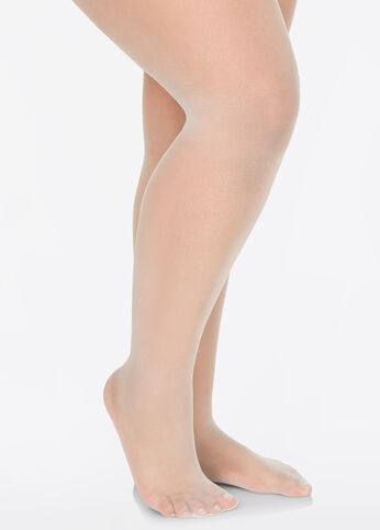 Plus Size Berkshire All Day Sheer Sandalfoot Pantyhose