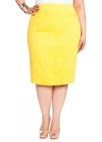 Pique Welt Pocket Skirt