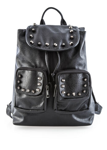 Studded Book Bag Hobo