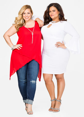 Team Sweetheart Plus Size Outfit