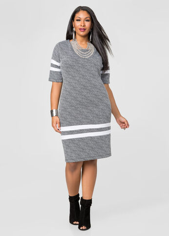 Varsity Stripe Dress