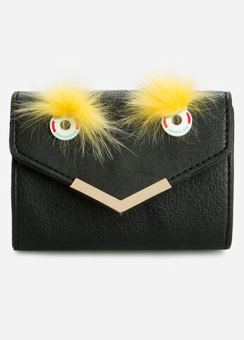 Mini Monster Face Envelope Clutch