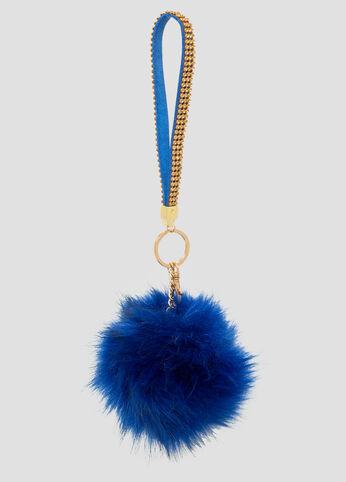 Fur Pom Handbag Charm