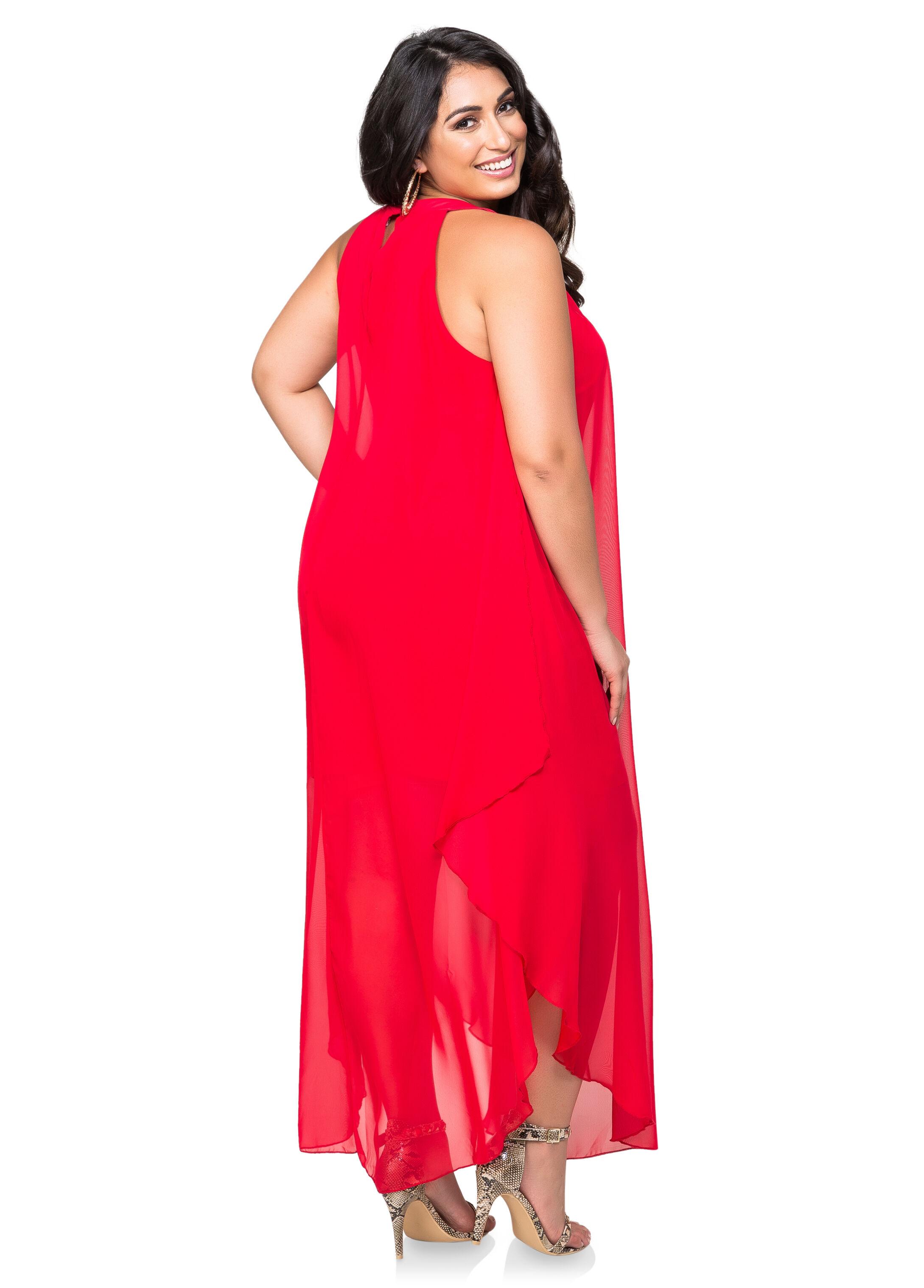 Red dress 3x equals