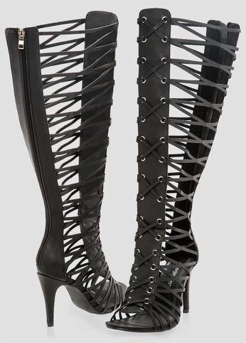Tall Gladiator Sandal - Wide Width Wide Calf