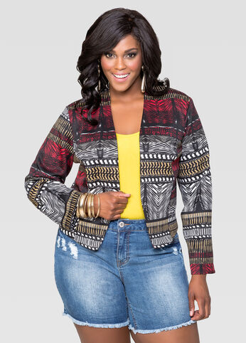 Tribal Ponte Jacket