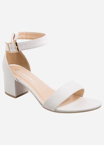 Classic Block Heel Sandal - Wide Width