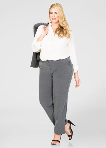 The Power Pant - Tall Extended Sizes Heather Grey - Jeans