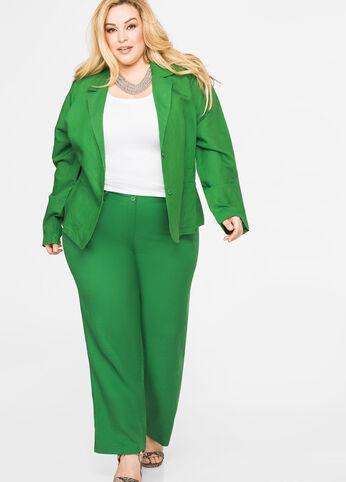 Linen in Green