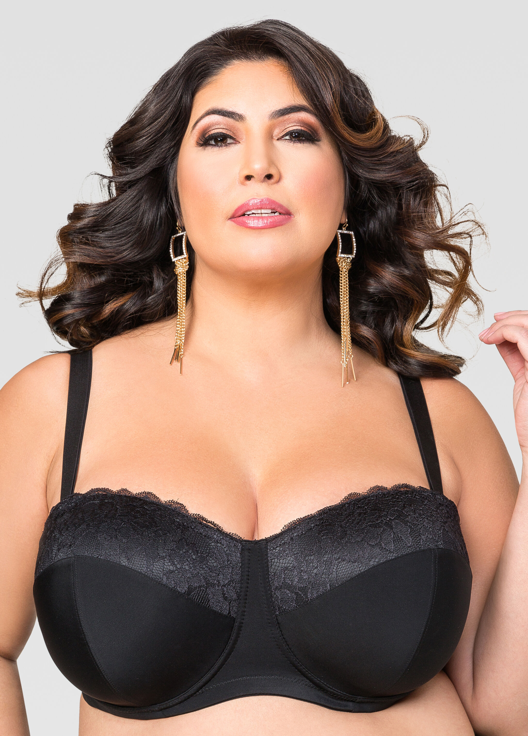 Plus Size Convertible Butterfly Bra - F,G,H Cups 054-AS-2576