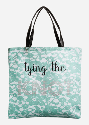 Tying The Knot Reversible Tote