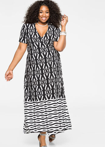 True Wrap Maxi Dress
