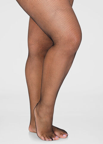 Back Seam Fishnet Stocking