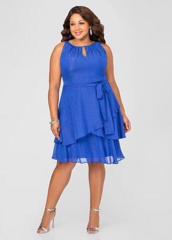 buy plus size peplum dresses for women ashley stewart. Black Bedroom Furniture Sets. Home Design Ideas