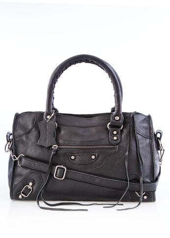 Medium Stud Leather Tote