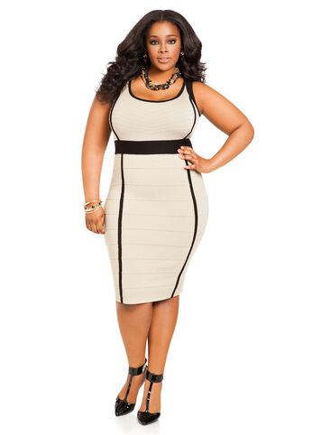 Sleeveless Bodycon Bandage Dress