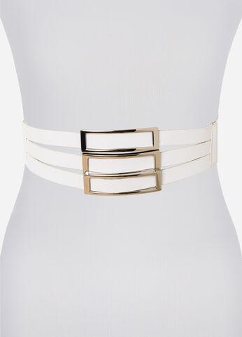 Strappy Triple Hardware Belt