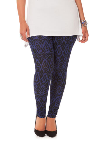 Geometric Patterned Leggings