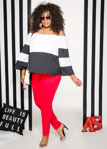 Love in Black and White! Plus Size Outfit
