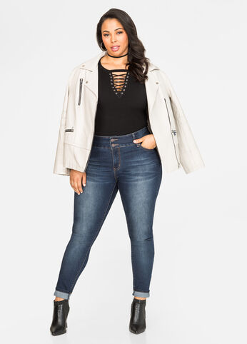 Buy Plus Size Skinny Jeans On Sale - Ashley Stewart