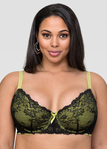 Soft Cup Lace Underwire Bra