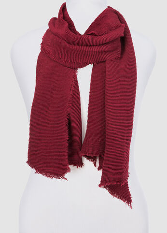 Accordion Pleat Oblong Scarf