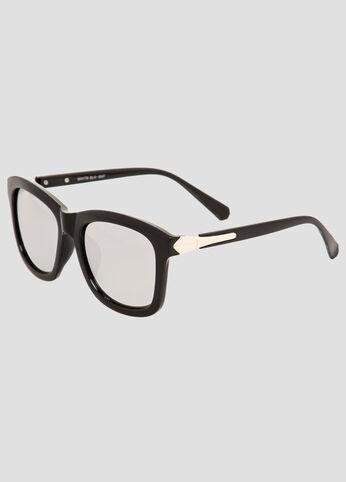 Metallic Lens Sunglasses
