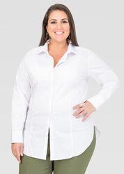 Long Button Front Shirt