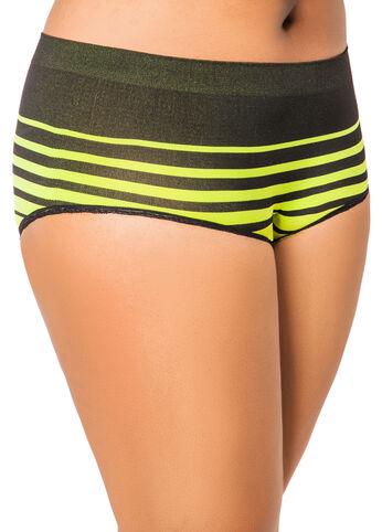Striped Seamless Panty