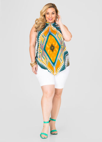 Plus Size Tribal Twist