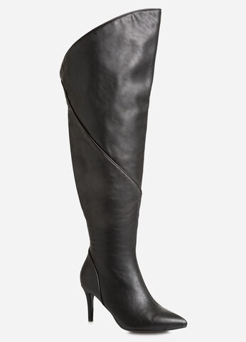 Extended Over The Knee Boot - Wide Calf, Wide Width
