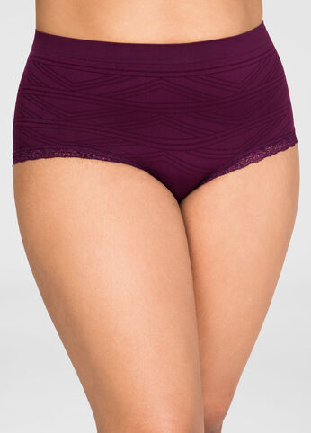 Geo Seamless Hipster Panty