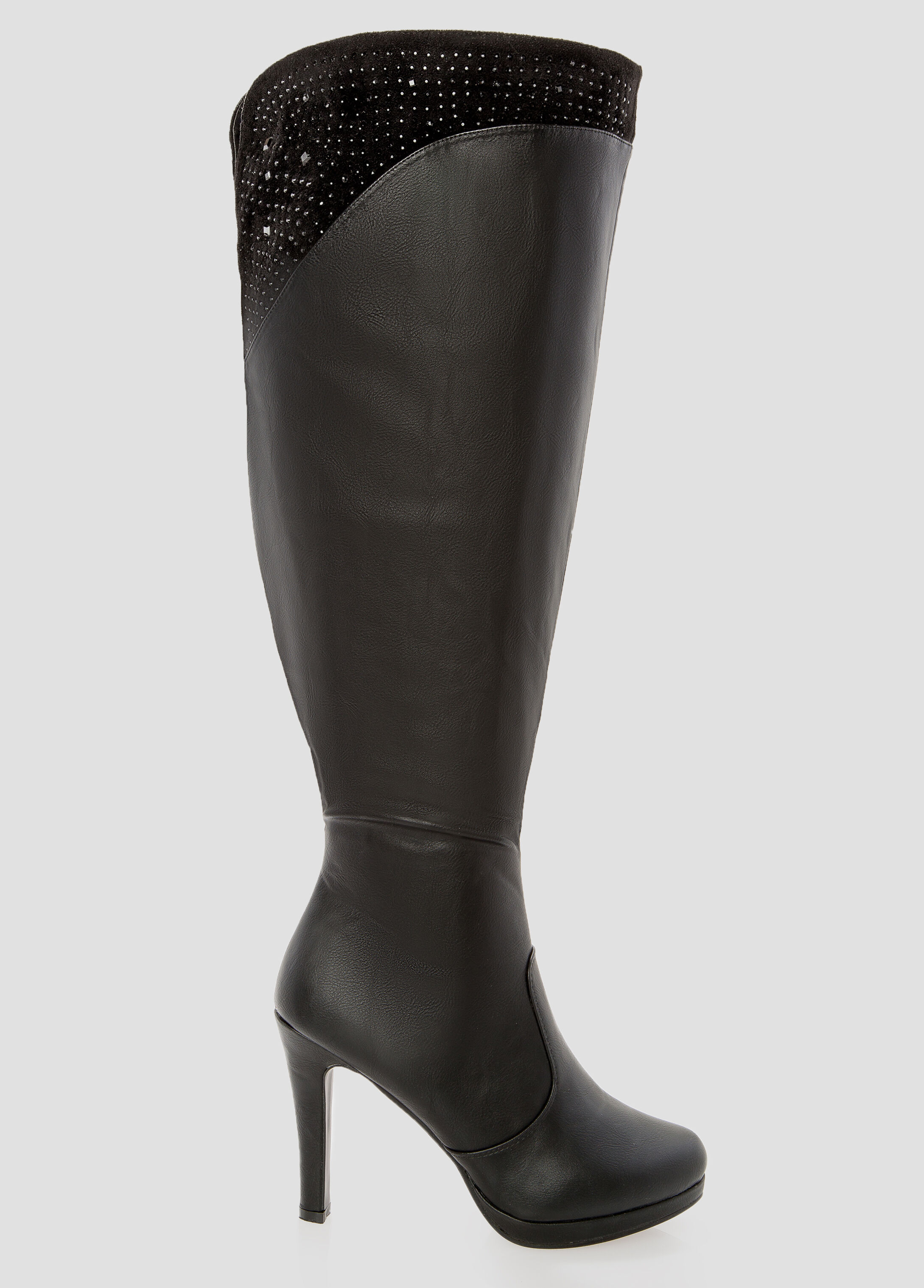 Over The Knee Boots Wide Calf GM2Ez01D